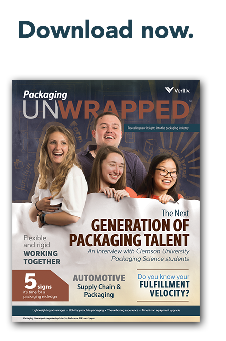 Veritiv's Packaging Unwrapped magazine