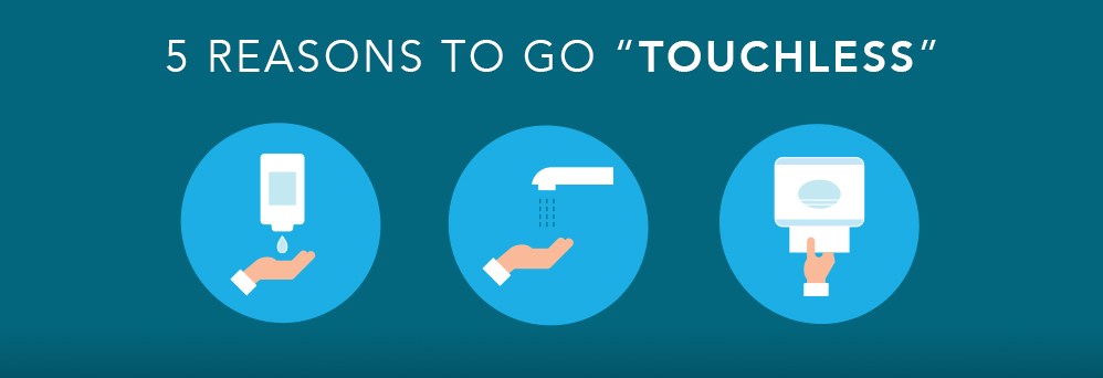 Five reasons to go touchless in your facility