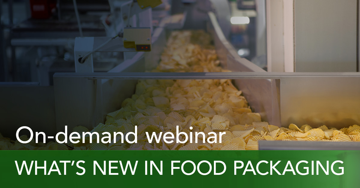 What's new in food packaging: on-demand webinar