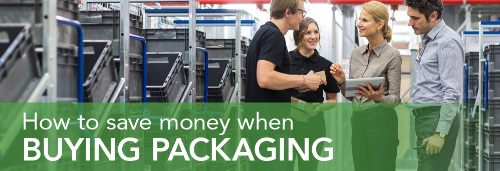 How to save money when buying packaging