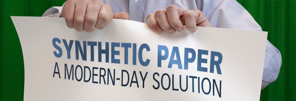 Synthetic paper: a modern-day solution