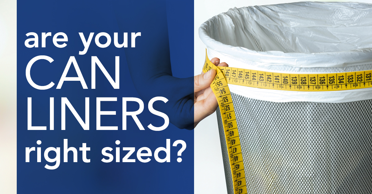 How to right size your can liner