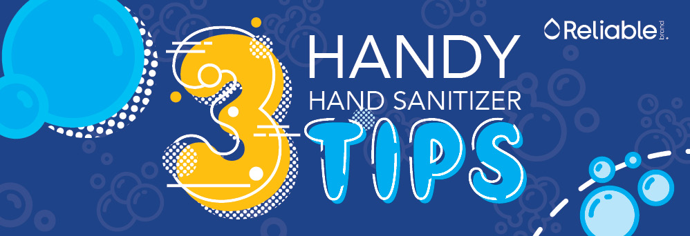3 handy hand sanitizer tips