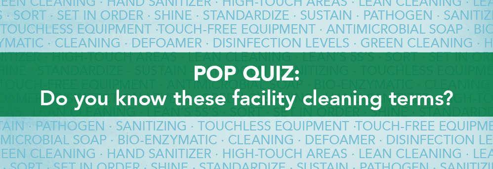 Pop quiz! Do you know these industry terms?