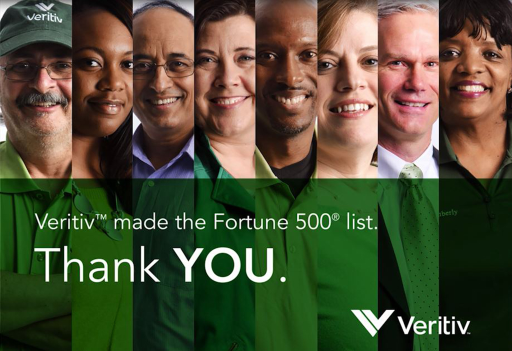 Veritiv is now a FORTUNE 500 Company