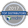 Ranked Top Distributor - 2017