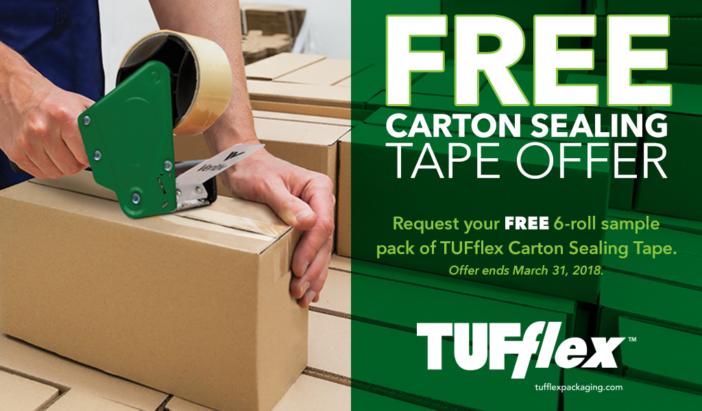 VE TUFflex Free Tape Offer
