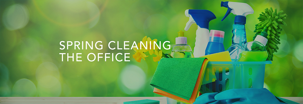 Spring cleaning the office