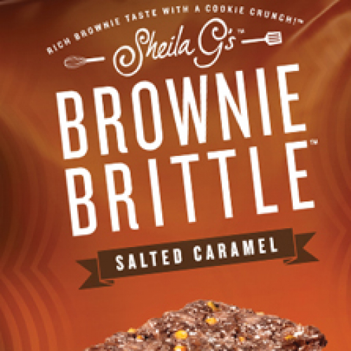 Le Brownie Brittle de Sheila G